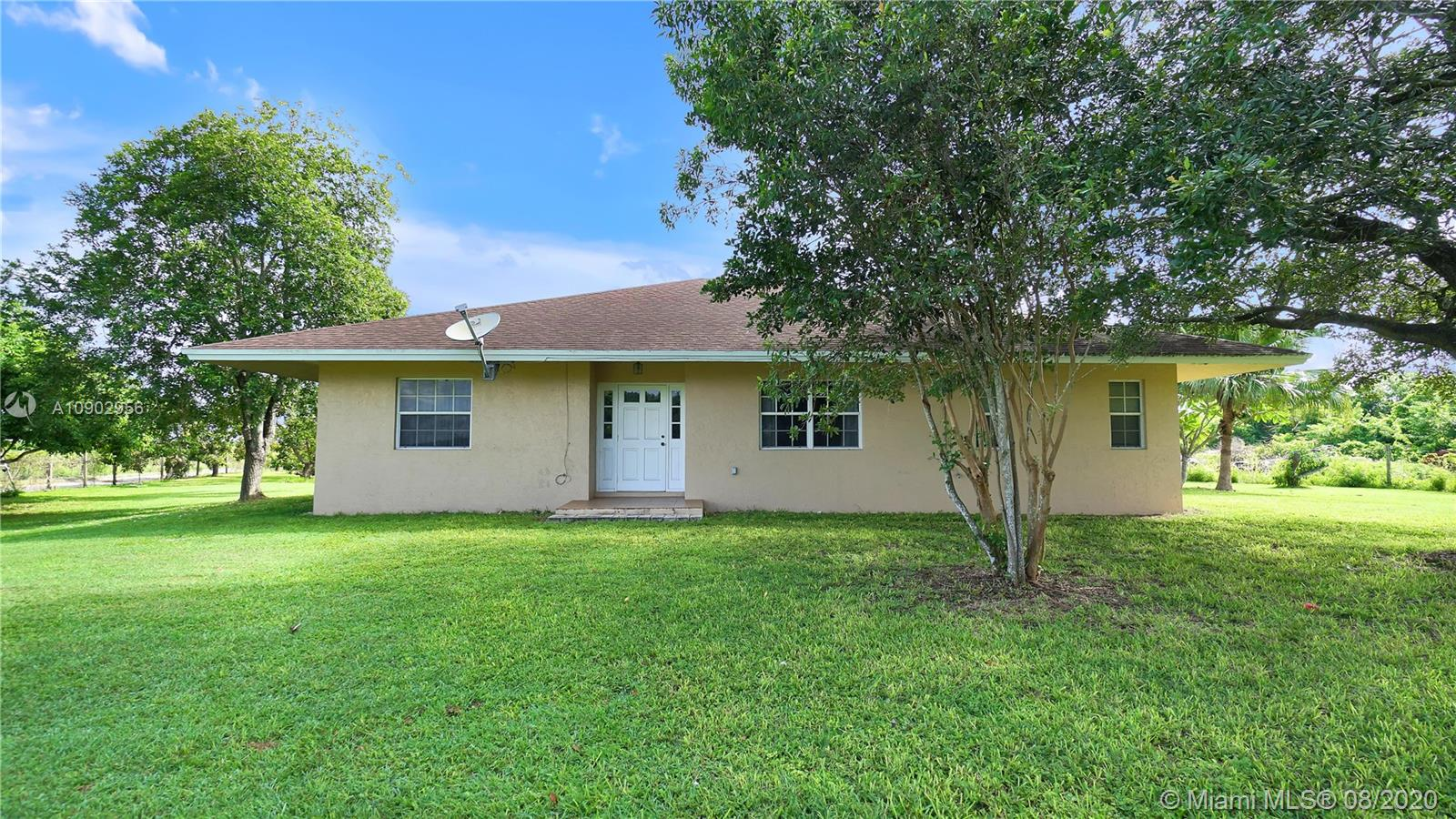20390 SW 344th St  For Sale A10902956, FL