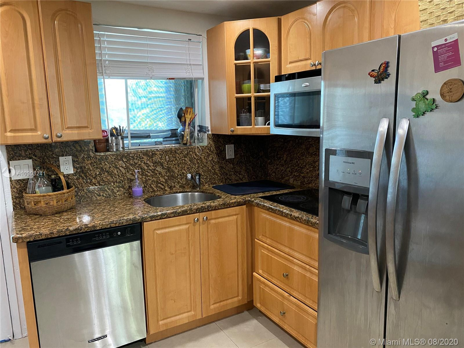 Fully renovated 2 bd/1 bd apartment in desirable Bay Harbor Islands with A grade schools, close to the beach, restaurants, Indian Creek River, shops (including Ball Harbor shops), Ruth K-8 School. Building has a pool and a spacious courtyard.  Laundry room located on premises. Unit is currently rented till 10/04/2020. Priced for a quick sale, motivated seller!