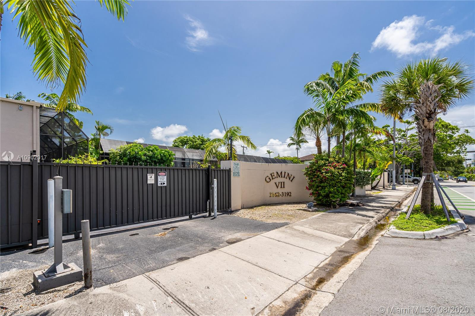 3166  Bird Ave #3 For Sale A10902017, FL