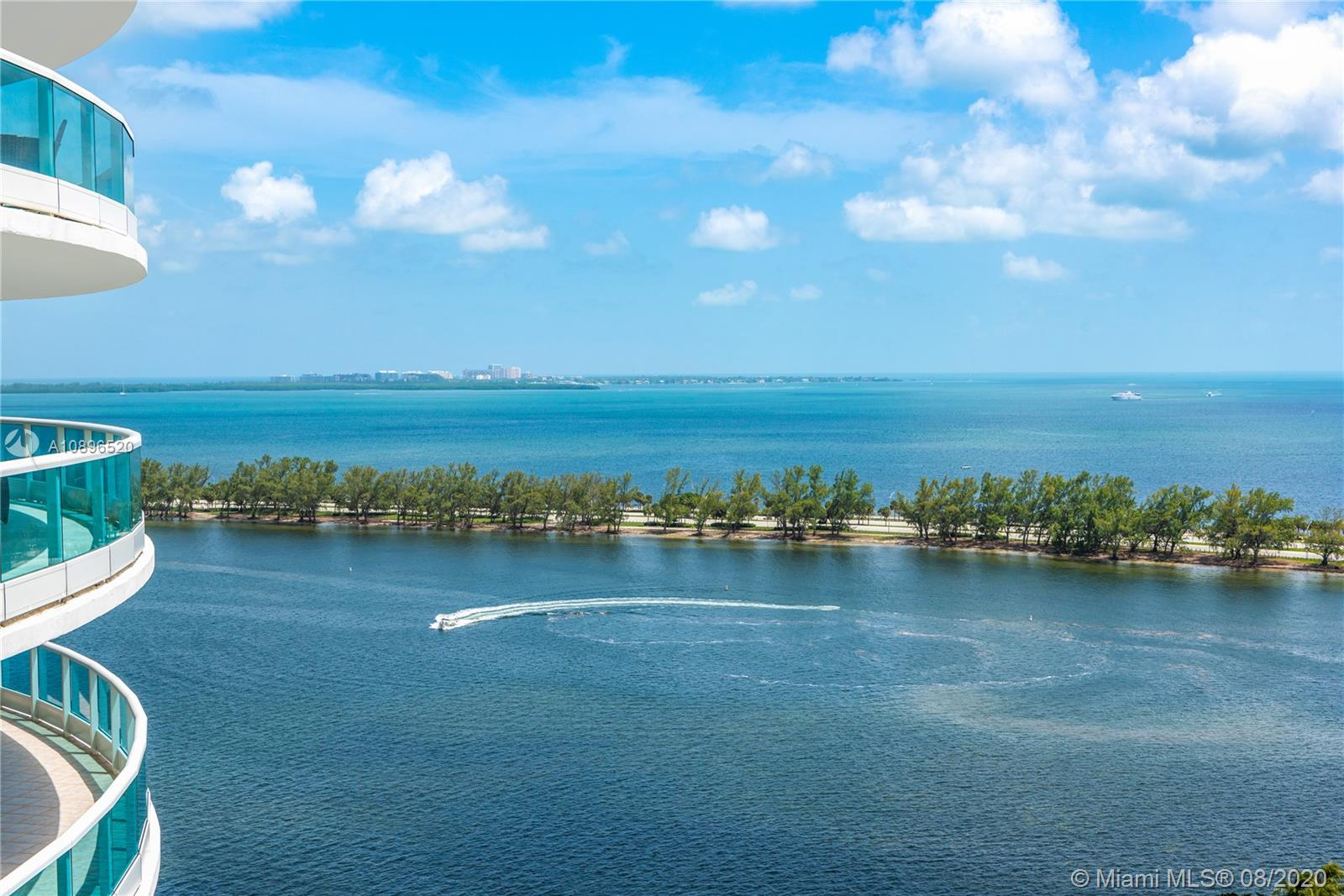 Step inside this upgraded bay front gem located in Bristol Tower. Offering 2,800 sq ft of prime luxury waterfront  Brickell lifestyle. Completely remodeled in 2019, this home features 3 large bedrooms, 2 en suite, separate laundry room, bright living area perfect for entertaining. The modern kitchen includes granite countertops, Miele, Wolf appliances. All rooms are brightly lit by natural lighting and have access to  balconies providing an airy lifestyle. Enjoy the sunsets setting over the Brickell skyline from your grand wraparound and extended balcony. Magnificent Views of KB Bay, Coral Gables and Dowtown Brickell.