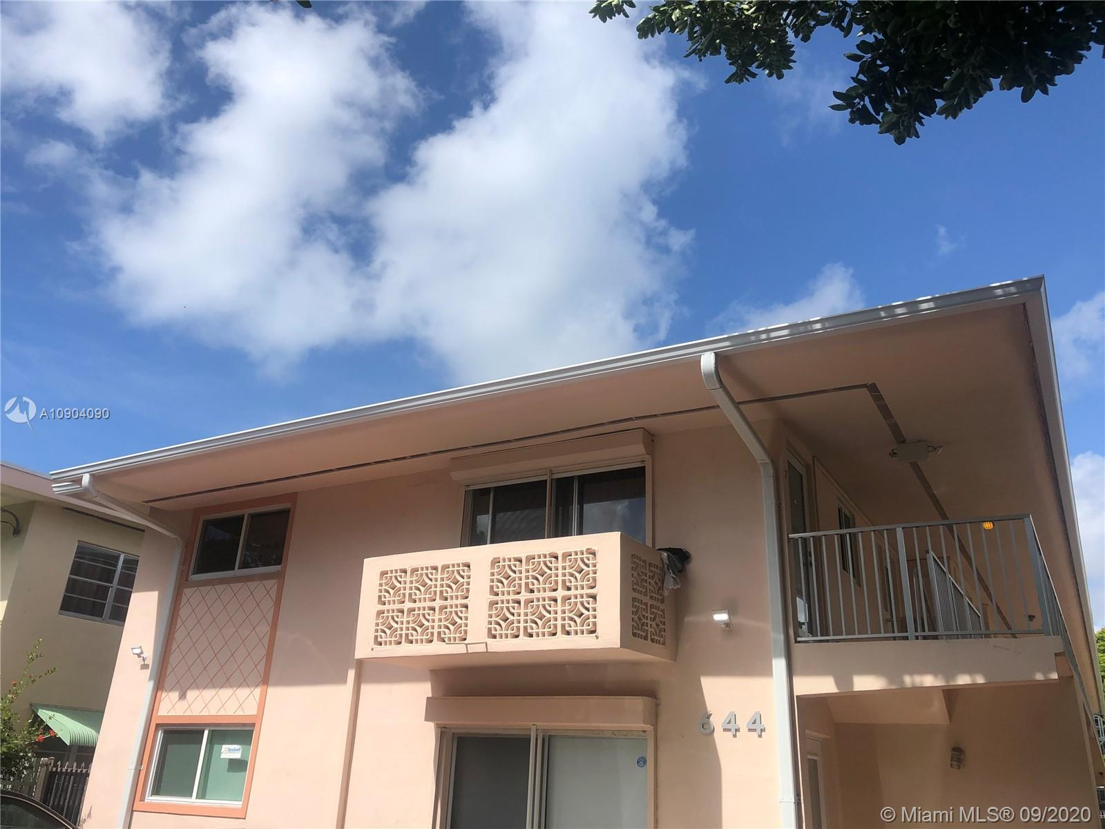 644  Meridian Ave #12 For Sale A10904090, FL