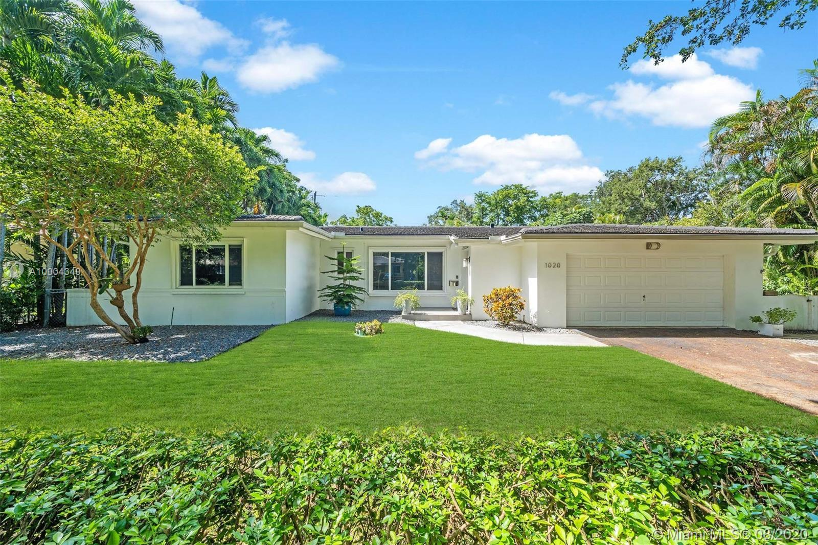 1020  Mariposa Ave  For Sale A10904349, FL