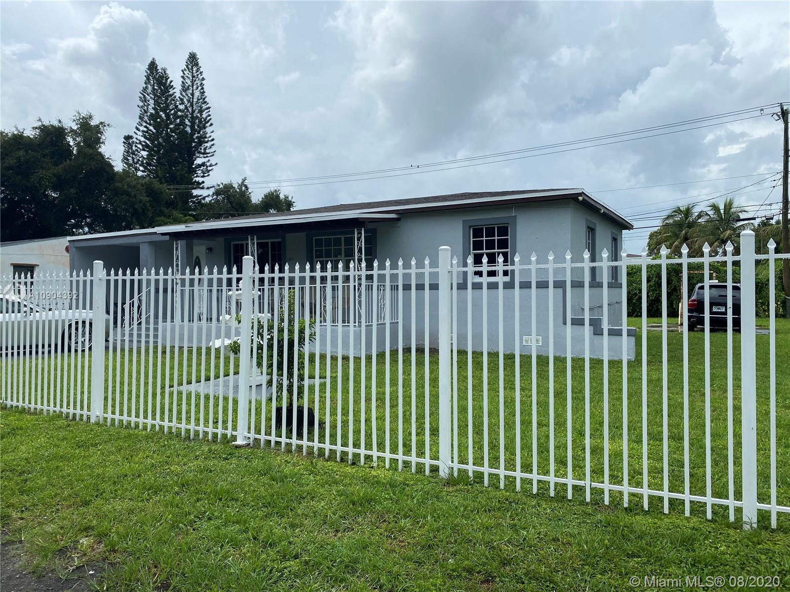 Wonderful property located in Biscayne Gardens. Currently rented month to month. Updated home with secured fence makes this home a great deal.