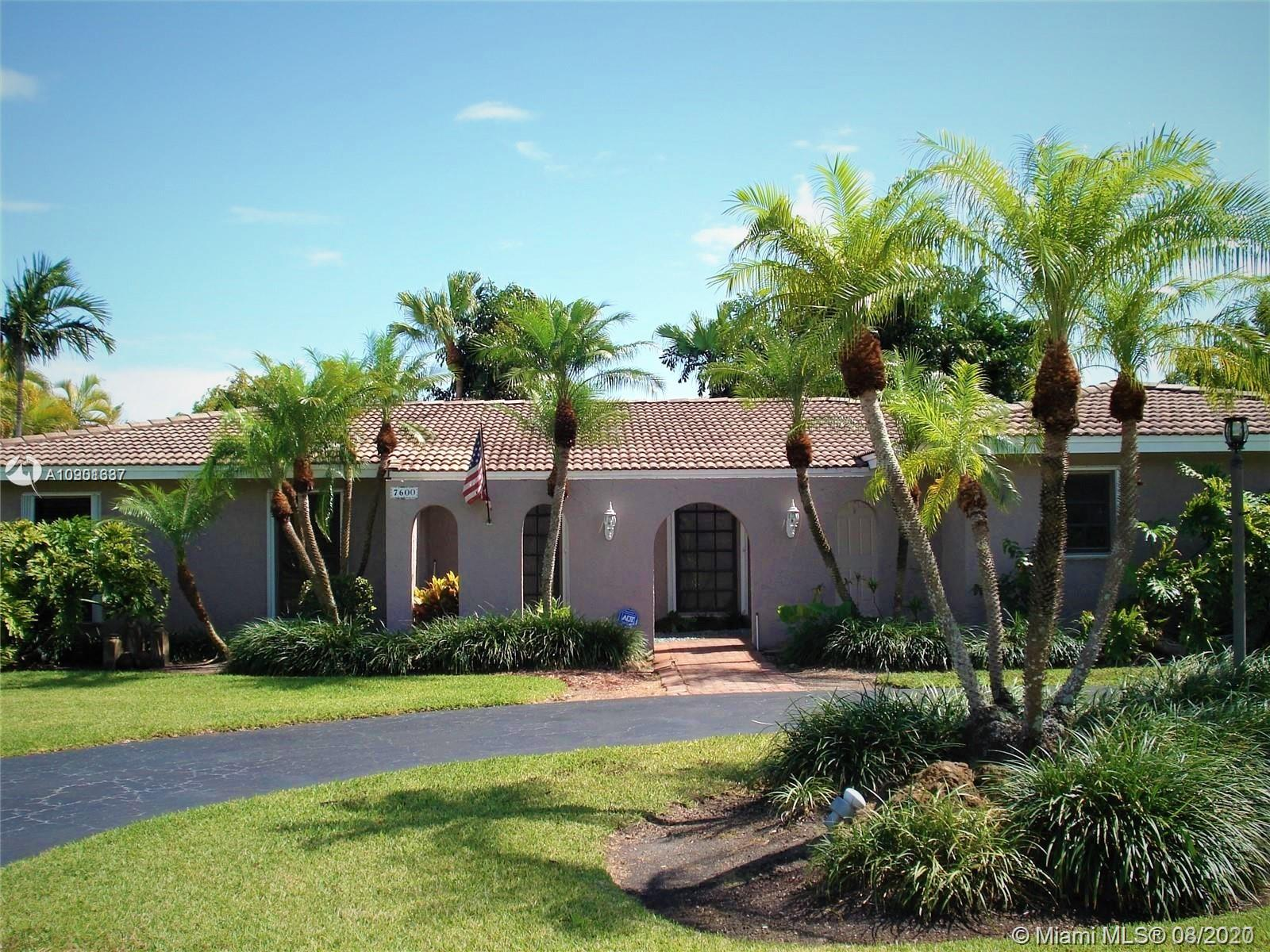 7600 SW 174th St #7600 For Sale A10901637, FL