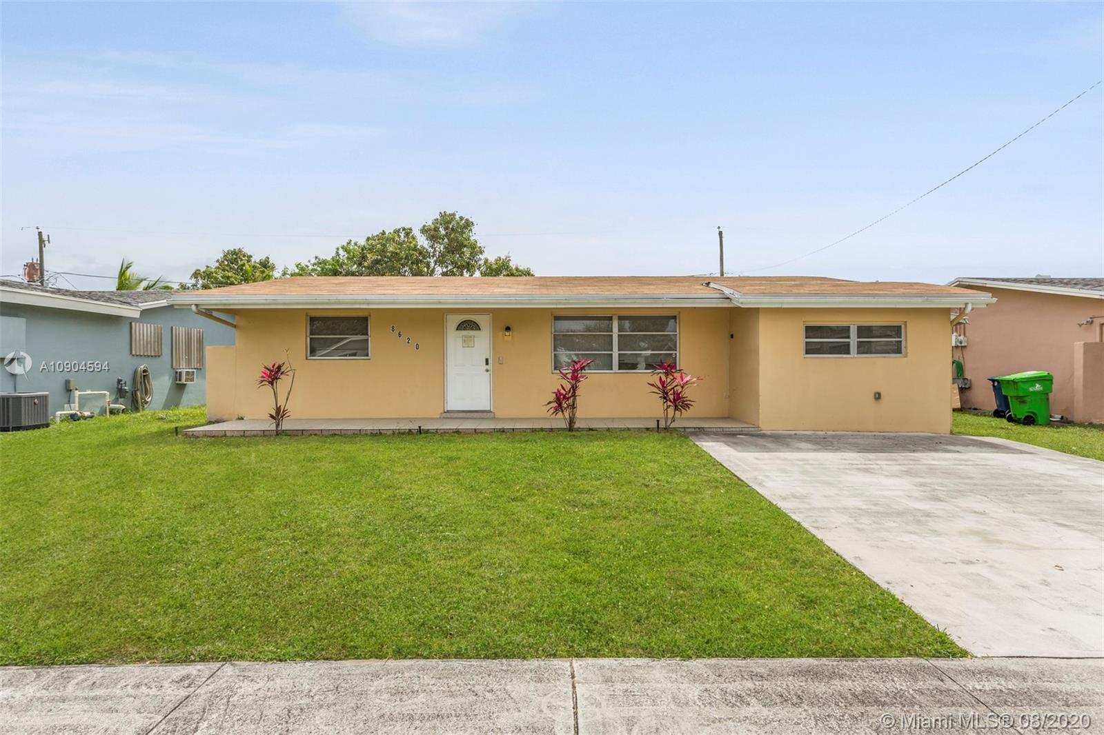 This 3 bedroom, 2.5 bathroom home is a great opportunity to move into the Fort Lauderdale area! Enjoy the multiple living spaces and dining spaces that make hosting a breeze! The backyard is completely fenced in and a great area to garden or hang out. Check it out for yourself!