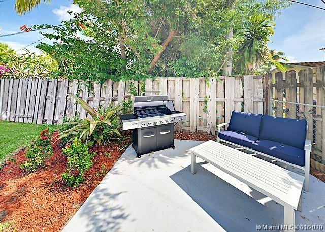 This posh 4BDR/3BA home features a masterful open concept design.  Enjoy a swanky backyard patio with a comfy seating area, bubbling hot tub, fire pit, and side lawn perfect for pets.Nestled on a corner lot in the exclusive community of Coral Ridge Isles, your home is located just 3 miles from Las Olas Beach, and with a short drive to shopping and golf courses. A sleek white kitchen boasts quality stainless steel appliances and a four seat kitchen bar.  Sliding glass doors open to a beautifully landscaped fenced in backyard; complete with sunny patio lounge at the six person seated area under the pergola while supper sizzles on the grill.  THE APPRAISAL SHOWS FOR GREAT EQUITY!