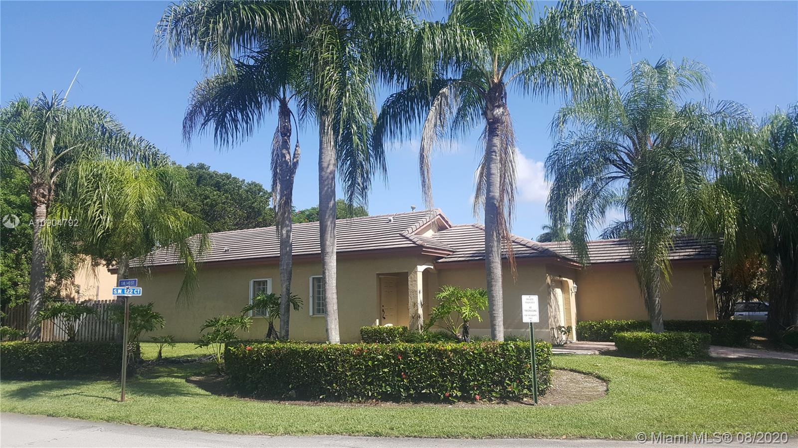 13988 SW 122nd Ct  For Sale A10904792, FL