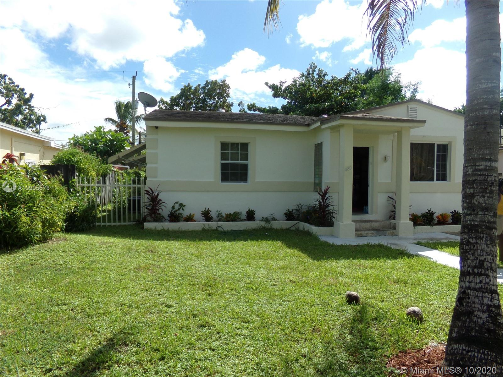 480 NW 109th St  For Sale A10905578, FL