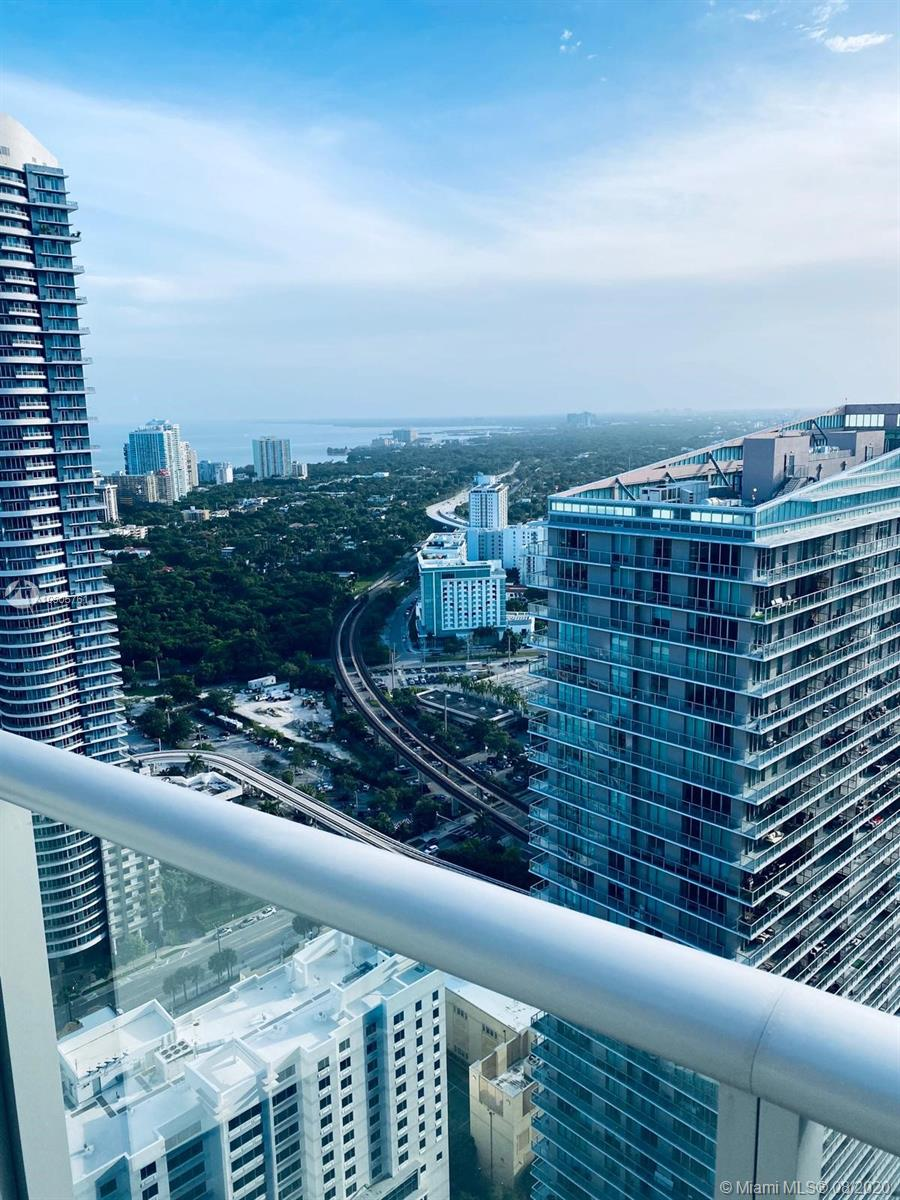 Millecento building is located 1 block from Mary Brickell Village and 3 blocks from Brickell City Center. This 41st floor unit clears the neighboring tower giving you complete privacy as well as ocean and sunset views. This is an UNFURNISHED STUDIO in excellent condition. Building features a main rooftop pool and a 2nd pool on the 9th floor, fully equipped gym, doorman with 24 hour security, valet parking, club room, private movie theater, kids room, steam & sauna. 1 Block to the Metrorail and Metromover stations. Available SEPT 3rd, 2020