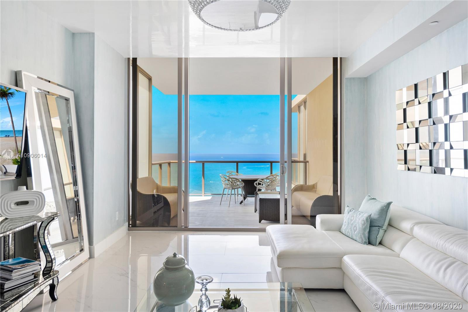 Endless direct ocean views from this spacious two bedroom residence at St. Regis Bal Harbour. Located across the street from the world famous Bal Harbour Shops and top restaurants and attractions. Enjoy the exclusive amenities at St. Regis including a private residence pool, a 14,000 Sq. Ft. Remede spa, State-of-the-art fitness center and more.