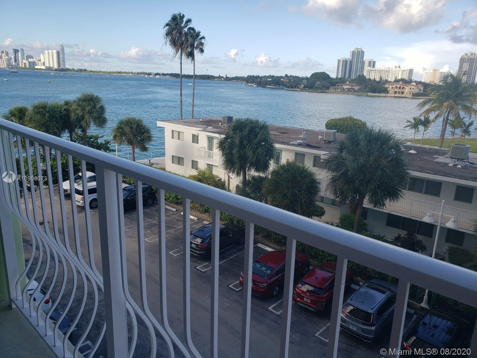 Live in beautiful Bay Harbor Islands! One bedroom with a water view and a large kitchen!! It's perfect for an investor or to live in this beautiful building. The maintenance includes internet, cable, and much more! Don't miss this opportunity!