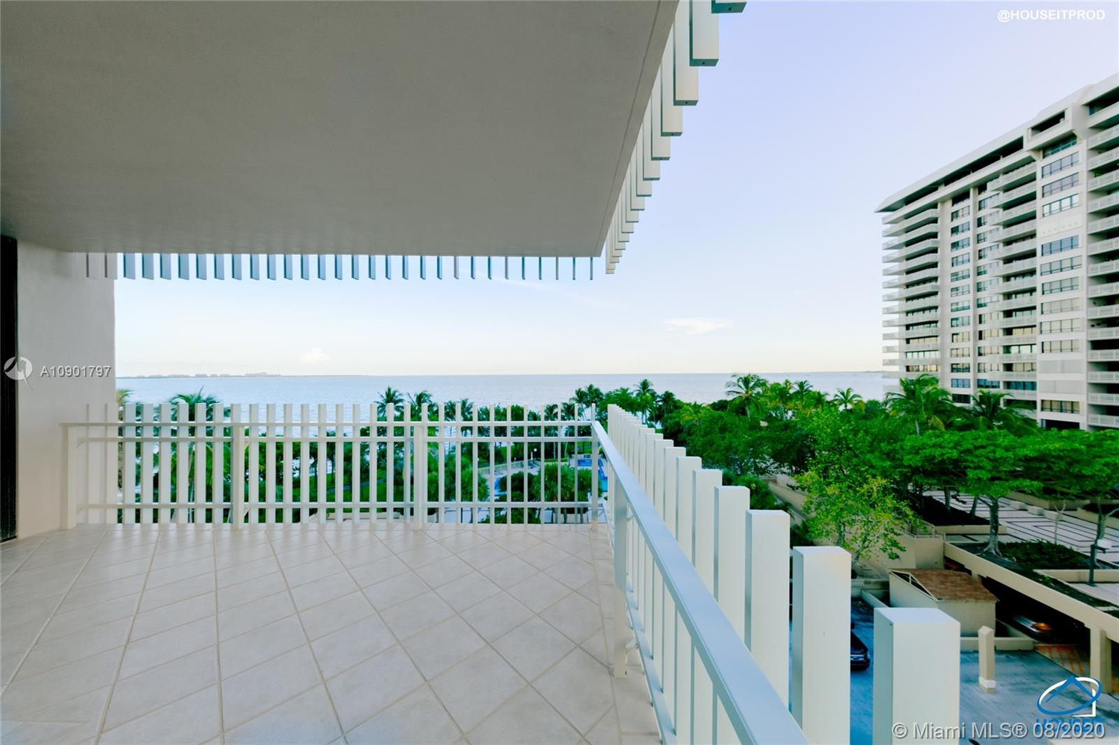 Lowest priced 3 bedroom, 2 bath in Grove Isle corner unit with unobstructed water views. Live on the only island in Coconut Grove while enjoying sunrises and sunsets from your own balconies. Paddleboard or kayak from the island's private beach or take a stroll to the Grove. Minutes away from the beach, downtown, business district and the airport.