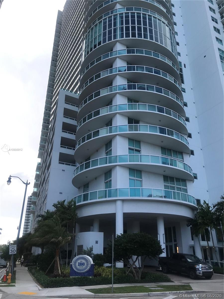 Beautiful unit at the1800 club condo with sunset views, overlooking the pool area and the city, a must see. Large unit.841 under ac + 161 sqft in terrace, with big walk in closet and Jacuzzi. Stainless still appliances. Close to wyndwood, midtown and downtown. Great building, great common areas. No pets allowed. Amenities: pool, gym looking margaret pace park, sauna, lounge, location, margaret pace park across the street. Rent includes cable, hi-speed Wi-Fi, water, parking.