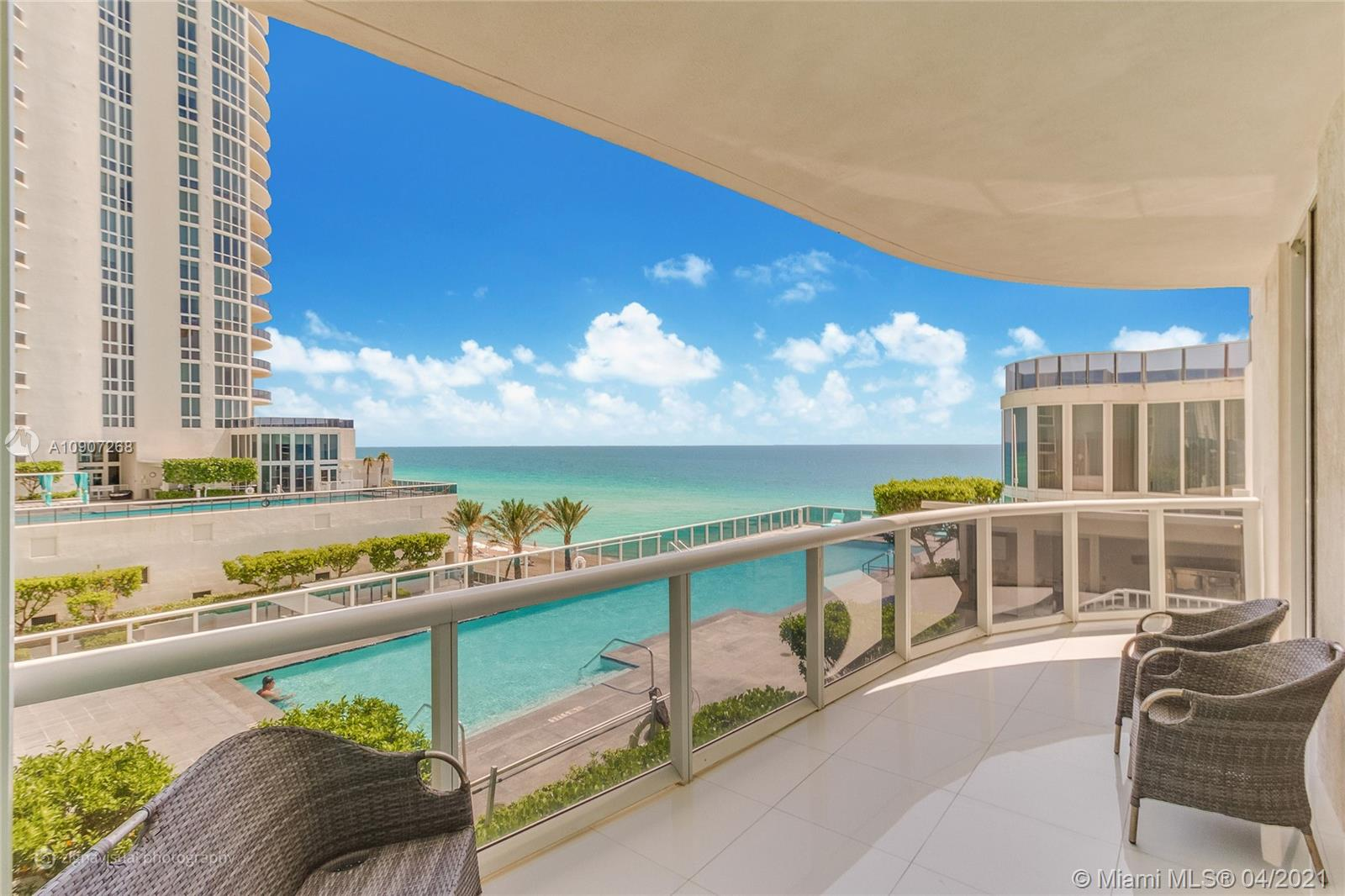 This unit is leased until 8/9/21.   Private lobby leads into your residence & Stunning floor to ceiling Ocean views. Beautifully furnished. 2 Large balconies, European cabinetry w/built in coffeemaker. Full Service Spa & Fitness. On site restaurant at Towers and Full beach service. Minutes to Aventura Mall/Bal Harbour Shops & Miami/Ft Lauderdale airports Most convenient of locations. The world flocks to Miami to live in this tropical oasis. Read Broker remarks!!