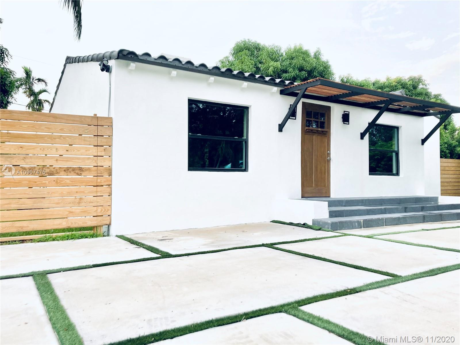 Location!!! Coral Gables! Miracle Miles! Shops, Restaurants, Newly renovated, Contemporary redesigned, 3/2 modern home on a great lot.