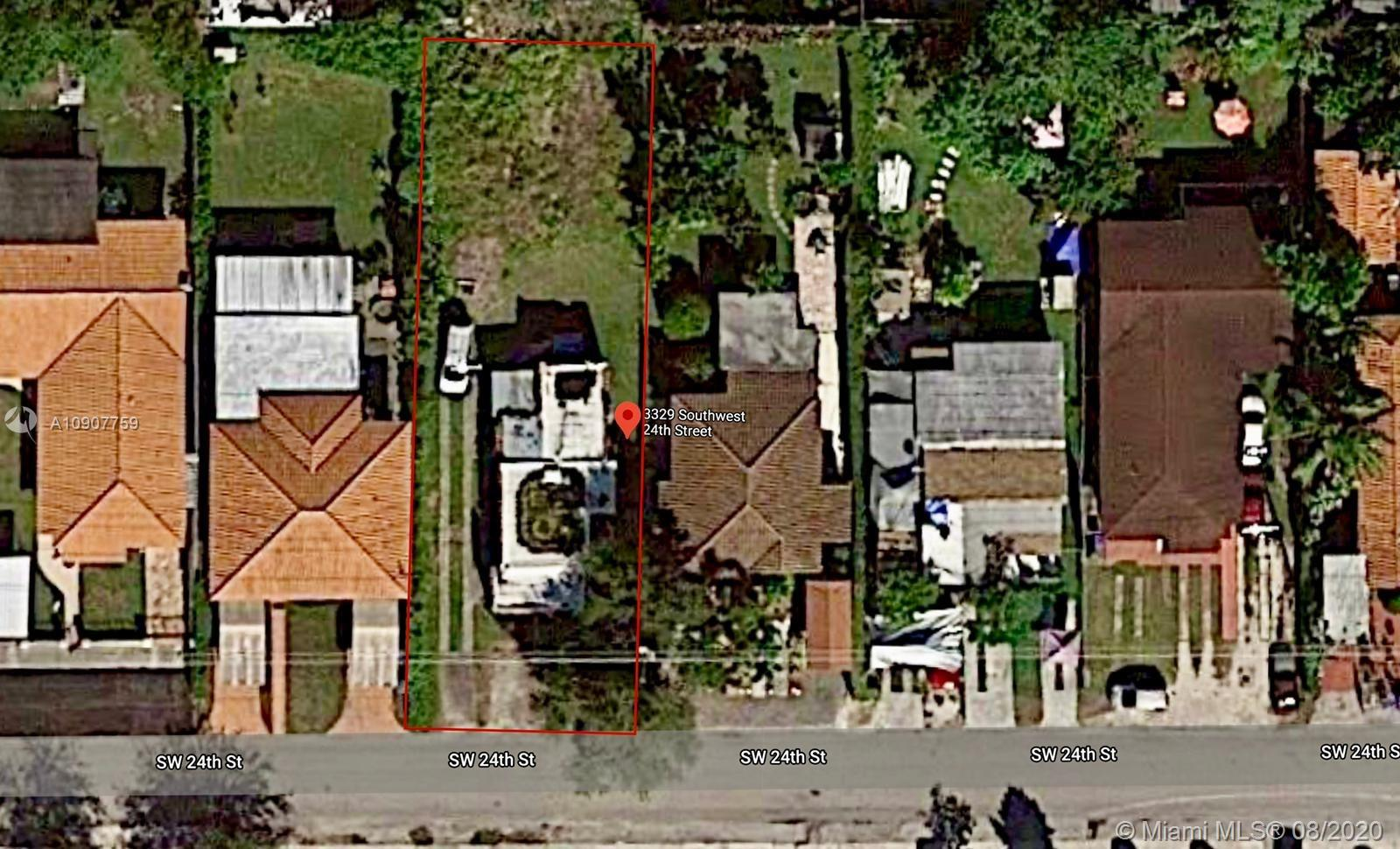 3329 SW 24th St  For Sale A10907759, FL