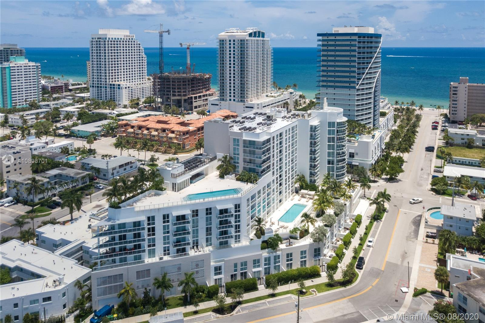 Gorgeous and Spacious 2bed/1bath at the desirable and new Tiffany House Residences in Fort Lauderdale Beach. Marble Bathrooms, quart countertops, high end appliances, porcelain tile floors. Full Service Building with 5 stars amenities offering club room, movie theater, gym, sun deck overlooking the intercoastal. Basic cable and high speed internet throughout common areas. Minutes Away from Las Olas Boulevard, one block away to the beach, just minutes away from FLL Airport and Port Everglades. Showings during Covid-19 times are allowed using protection gear mask.