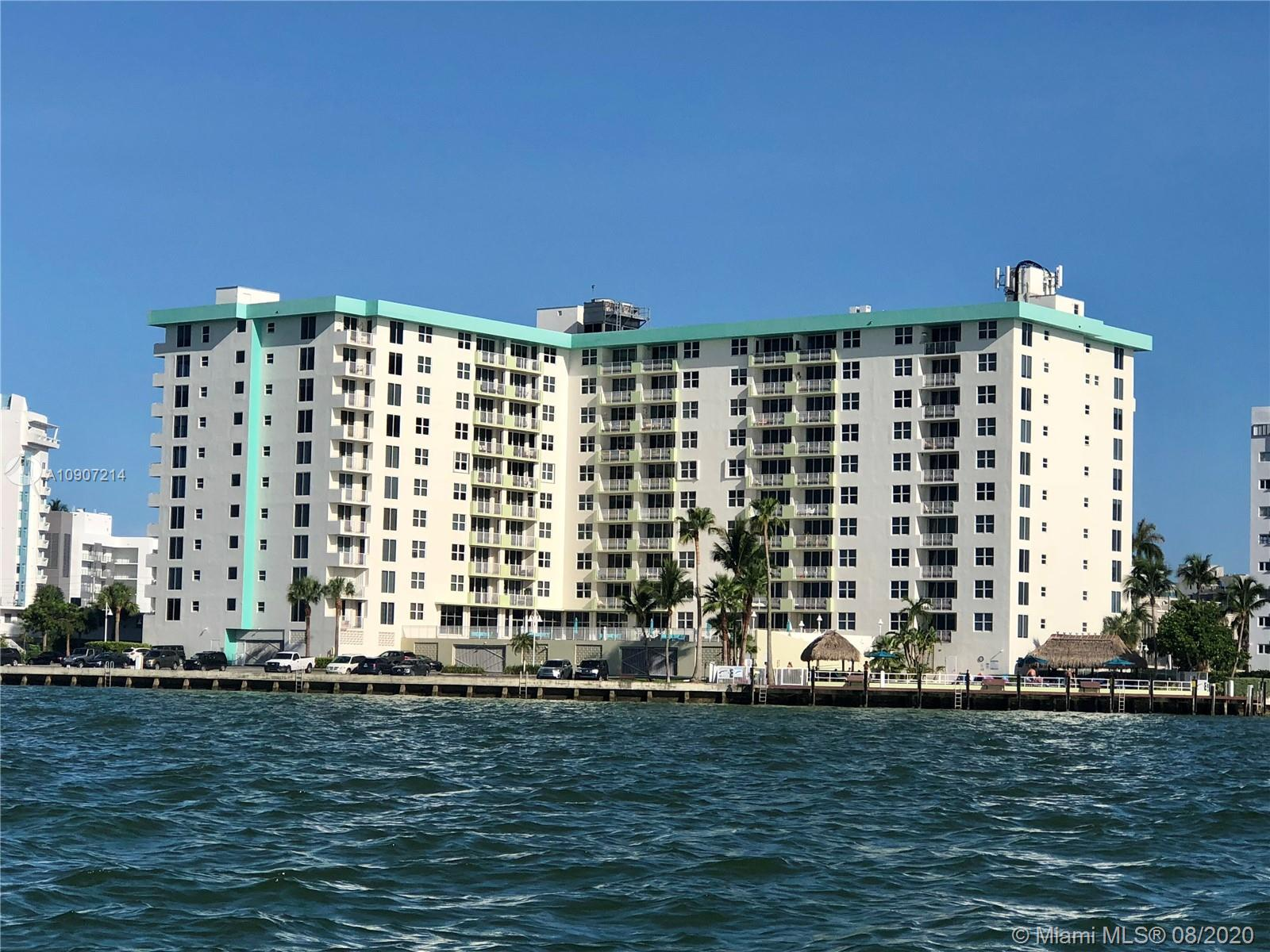 Totally remodeled all new. Gorgeous unit on the Bay in the prestigious Bay Harbor Island. 1 bed/ 1 bath. Washer and dryer inside the unit. Full amenities, security,pool, gym. Beautiful view.