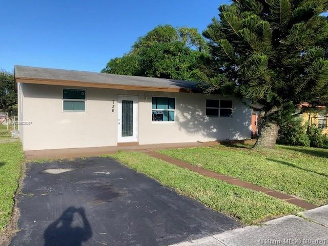 736 NW 2nd Ter  For Sale A10908097, FL