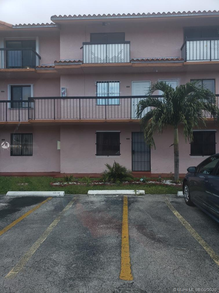 Located right off the Palmetto Expressway and I-75, this two story condo has a fully tiled floor with a  washer and dryer inside the unit. The AC and water heater were replaced three years ago. This great investment opportunity comes with low HOA fees, ready for any small family to move in. Walking distance from the unit, you can find the Palmetto hospital and Bucky Dent Community Park, which has waterslides, swimming pools and a recreation center for your entertainment.