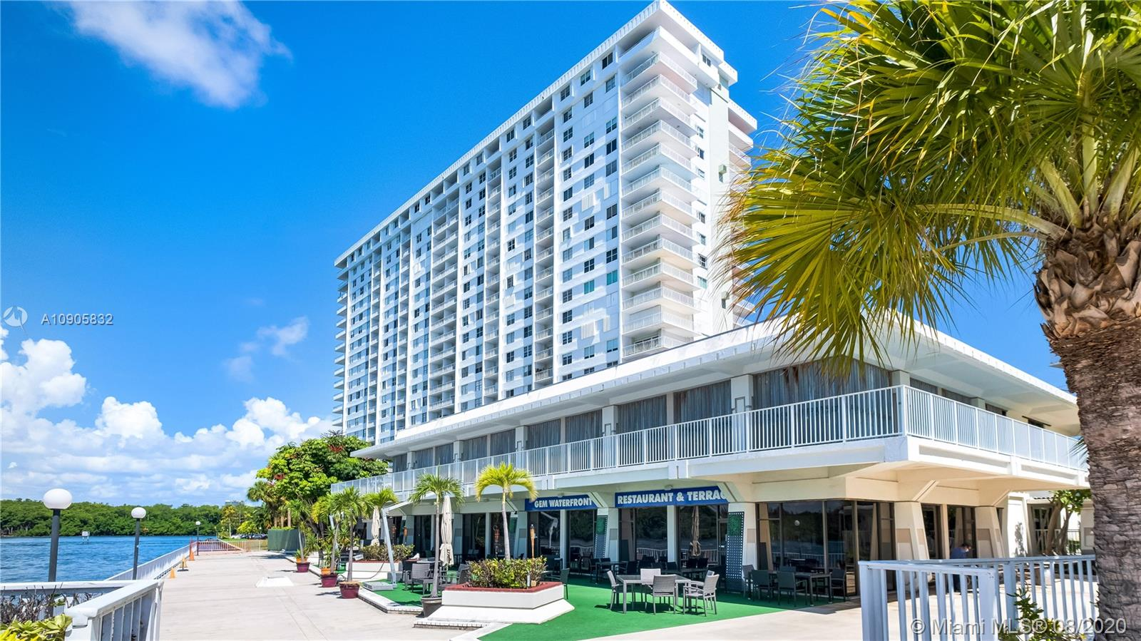 500  Bayview Dr #331 For Sale A10905832, FL