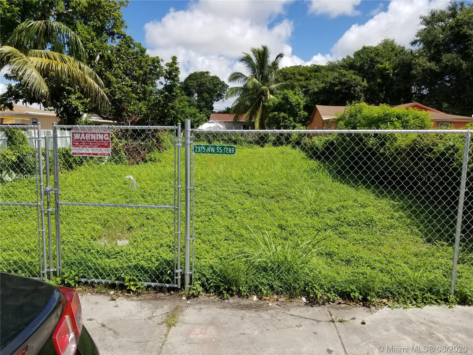 2375 NW 55 Terrace  For Sale A10908467, FL