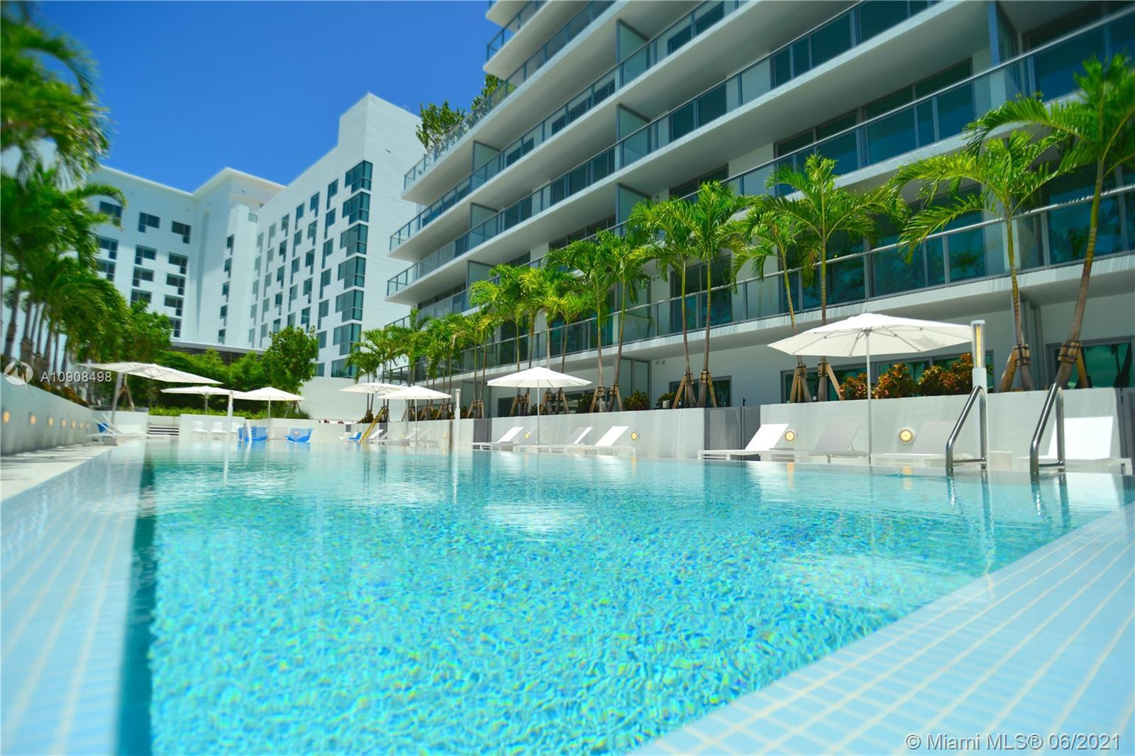 LARGE 1/1 at LE PARC BRICKELL. BAY VIEWS, AND GREEN OPEN PARK VIEWS. TOP OF THE LINE DECORATION AND FINISHES. LOCATED ON A QUIET AREA OF BRICKELL, AWAY FROM NOISE AND HEAVY TRAFFIC. FULLY FURNISHED TURNKEY. Amenities include two parking spaces, Two pools: one rooftop pool one on the 4th FL. Fitness center, secure access to the building. 24 HR Front desk attendant, Walking distance to Supermarkets, stores restaurants and much more. Great condo for pet lovers. Close to the public free transportation, metro mover, Trolley. Definitely a