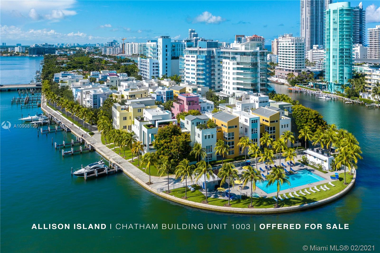 Modern 3BD / 3.5BA in Highly desired AQUA Allison Island in Miami Beach. This spacious loft style apartment offers over 2,000 SQ FT of living space, 12 FT ceilings, floor-to-ceiling glass, S/S appliance, marble counter, over 400 SQ FT of balcony space with amazing ocean and intracoastal views. AQUA offers an array of unmatched amenities exclusively for residents. From a full-service spa to a mango grove to a neighborhood swimming pool.