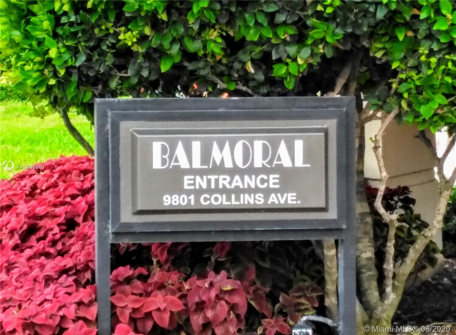 9801  Collins Ave #16O For Sale A10909591, FL