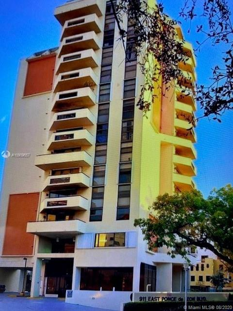911 E Ponce De Leon Blvd #1202 For Sale A10909657, FL