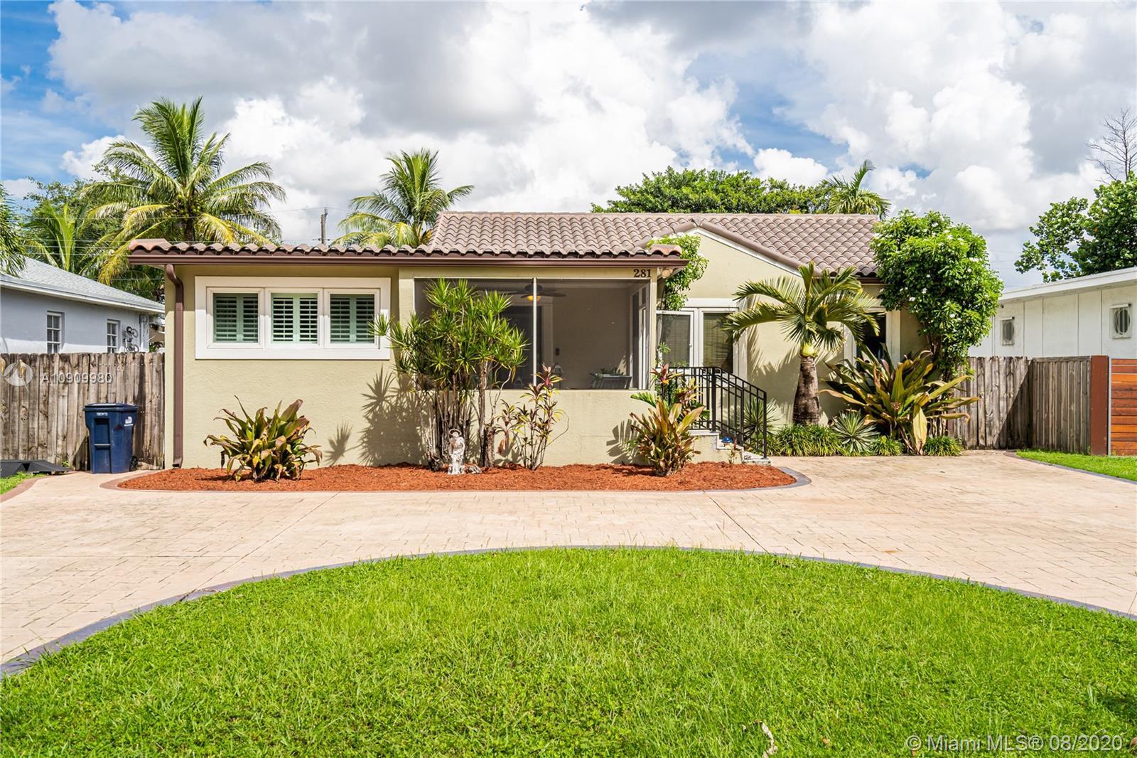 281 N Melrose Dr, Miami Springs FL 33166