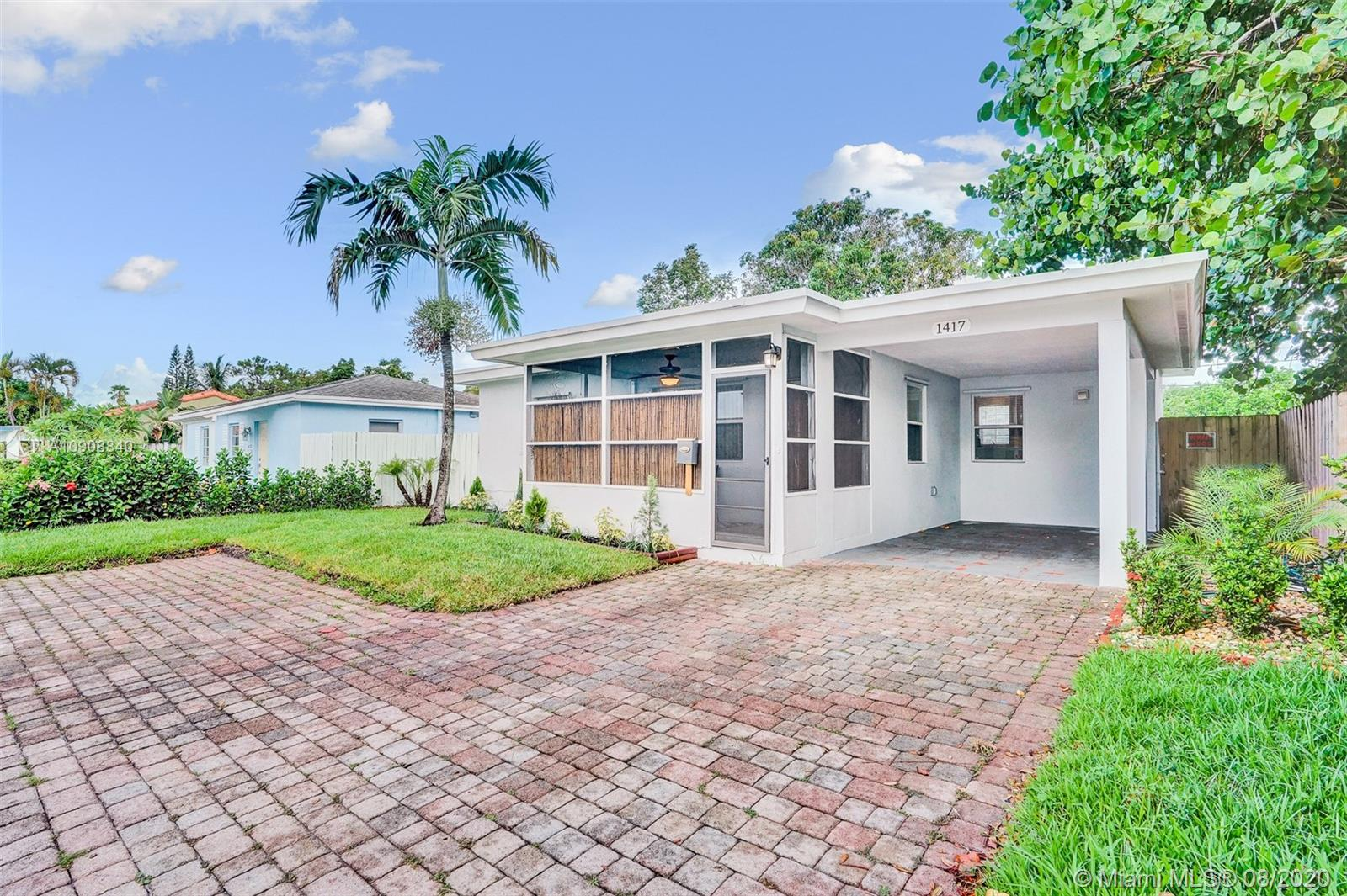 1417 N Andrews Ave  For Sale A10908840, FL