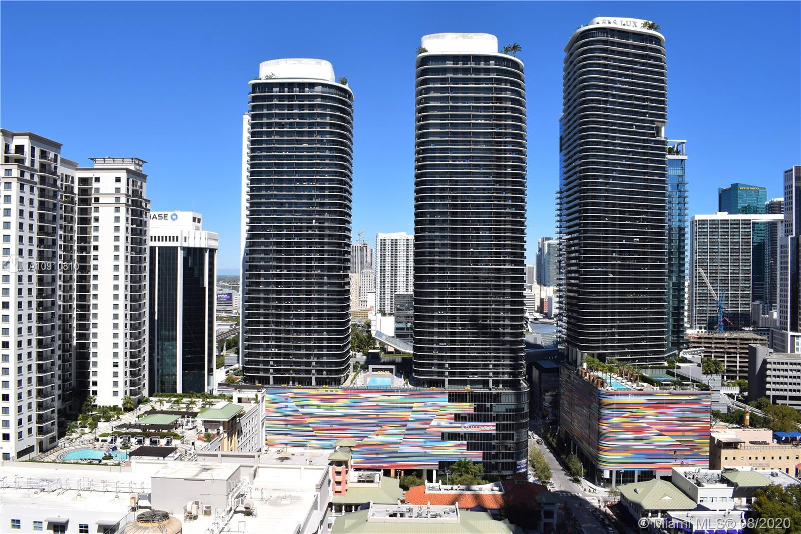 2 bedroom 2 bath unit in brickell at Millecento, created by Carlos Ott and designed by Pinifarina. High rise building in the heart of Mary Brickell village. Upgraded unit, beautiful italian wood porcelain tile in living area and balcony, italian cabinetry, prime appliances. Large balcony, amazing skyline views and bay view. 5 star amenities, rooftop pool at 43rd floor, lounge room, kids room, movie theatre, fitness center, sauna