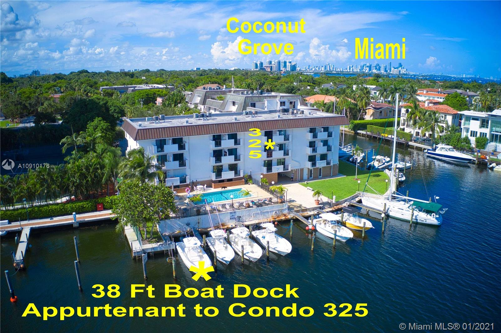 INCOME PRODUCING DEEDED 38 FT BOAT DOCK NO FIXED BRIDEGES LEGALLY RENT TO NON RESIDENTS OF GABLES HARBOUR. Edgewater Drive Convenient to Coral Gables, Coconut Grove, Miami. Beautifully Renovated 2 Story 2BR/2.5BA Condo. Each Bedroom has an En Suite Full Bath. Half Bath Downstairs. Gorgeous Modern Kitchen, Quartz Countertops, Custom Island, Stainless Steel Appliances-Lighted Exhaust Hood, Glass Tile Backsplash, Beautiful Custom White Cabinets, Custom LED Lighting. Spectacular Master Bedroom, Covered Balcony, Fantastic Canal-Bay Water Vistas. Gorgeous Modern Master Bath. Second Bedroom with an En Suite Full Bath. Gulfstream-Reef Fishing-Diving in Minutes. Pool, Community Room-Kitchen, Private Storage Locker, Bike, Paddle Board Storage. New AC System 2019. Rare Opportunity Deeded 38 Ft. Dock.