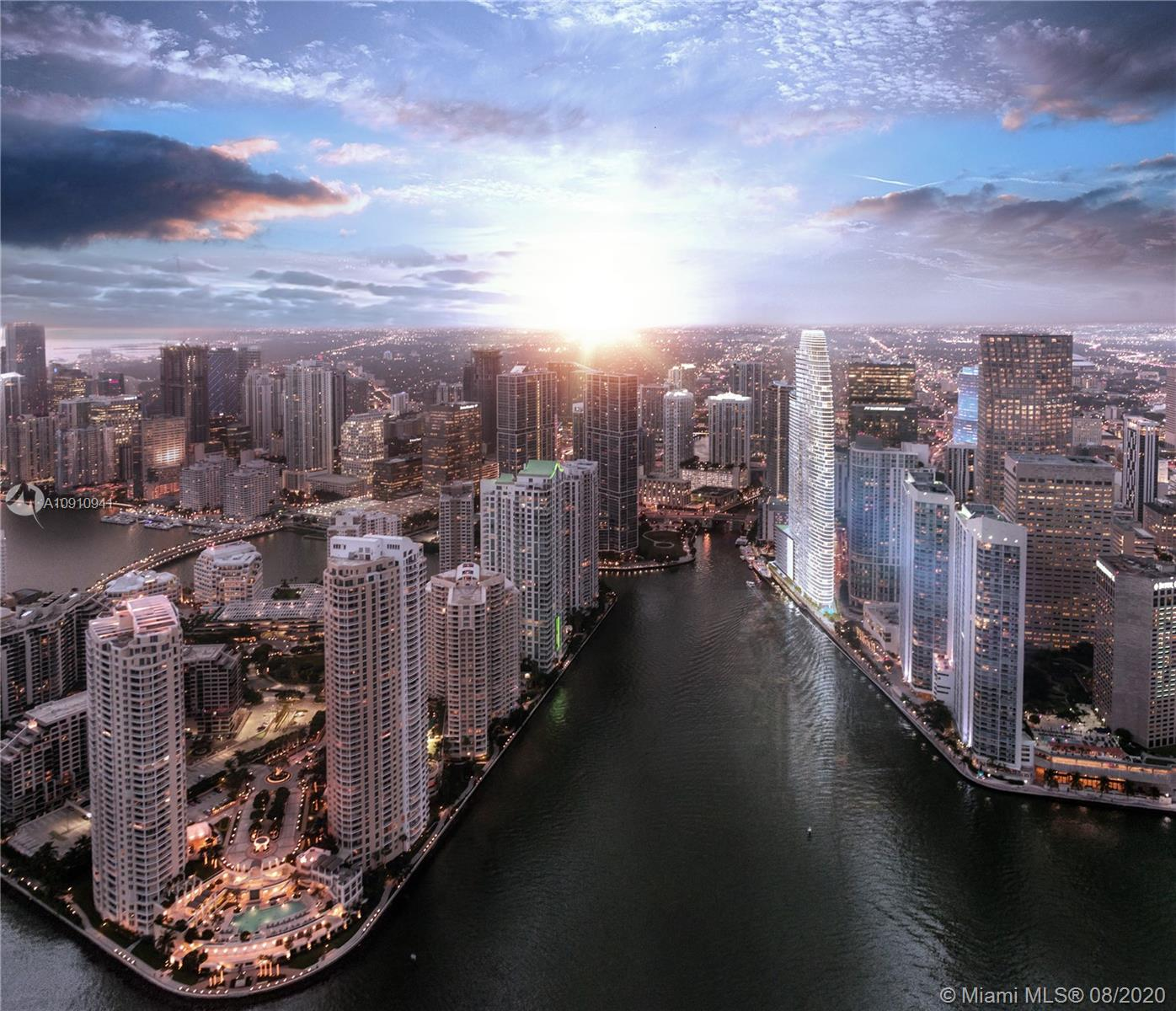 Your home in the sky. Construction is well underway. Aston Martin's first exclusively branded residential high rise with an estimated delivery in 2022. In this first exclusive development partnership with Aston Martin, the interiors are inspired by the brand's 105 year history, DNA and esthetic through subtle details and craftsmanship while taking into consideration Miami's tropical and exciting environment. The residential only tower will be over 800' as the tallest condominium tower south of NYC with 391 units, over 42,000 sq ft of sky amenities and timeless finishes.