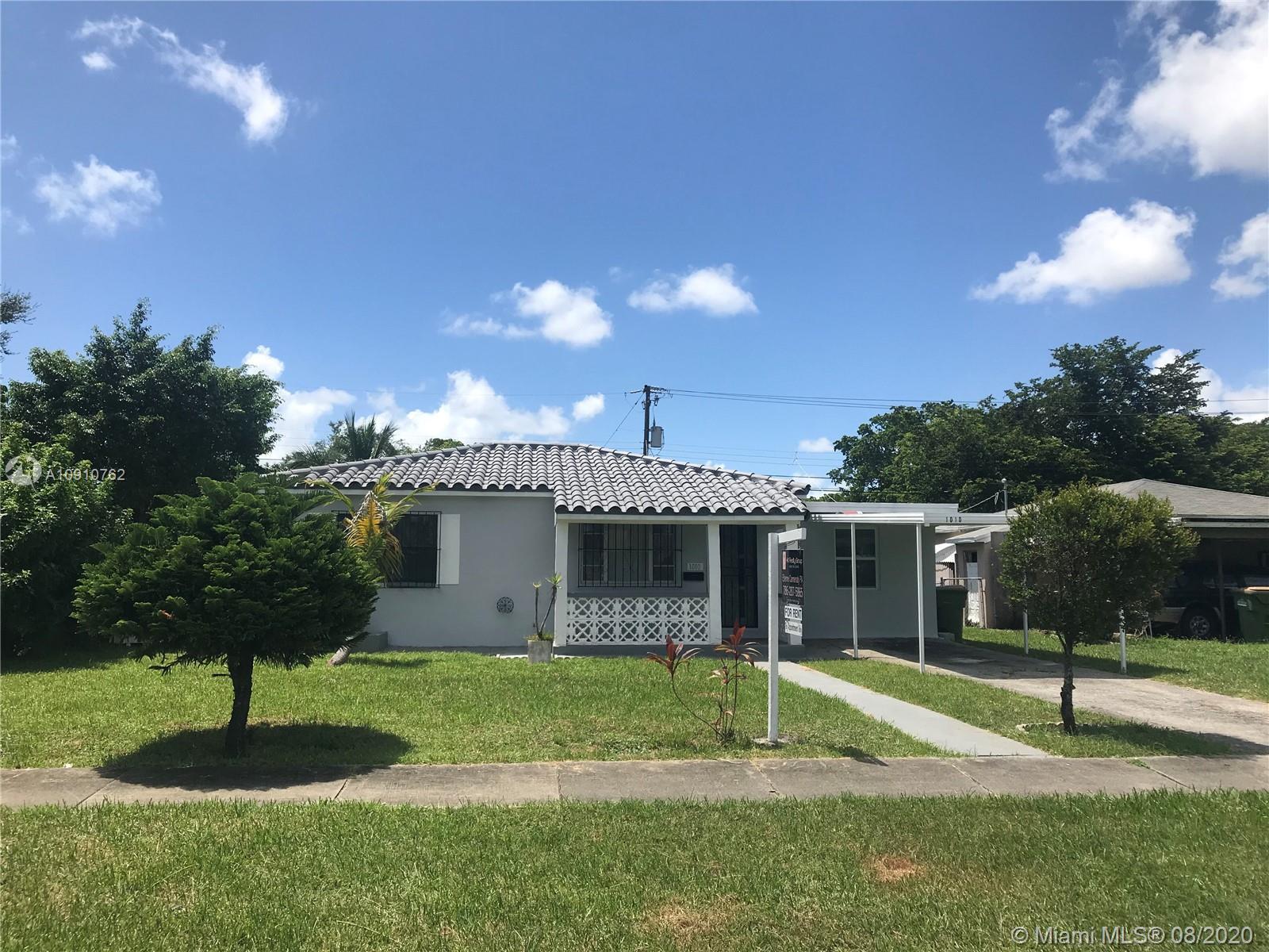 1010 NE 143rd St, North Miami FL 33161