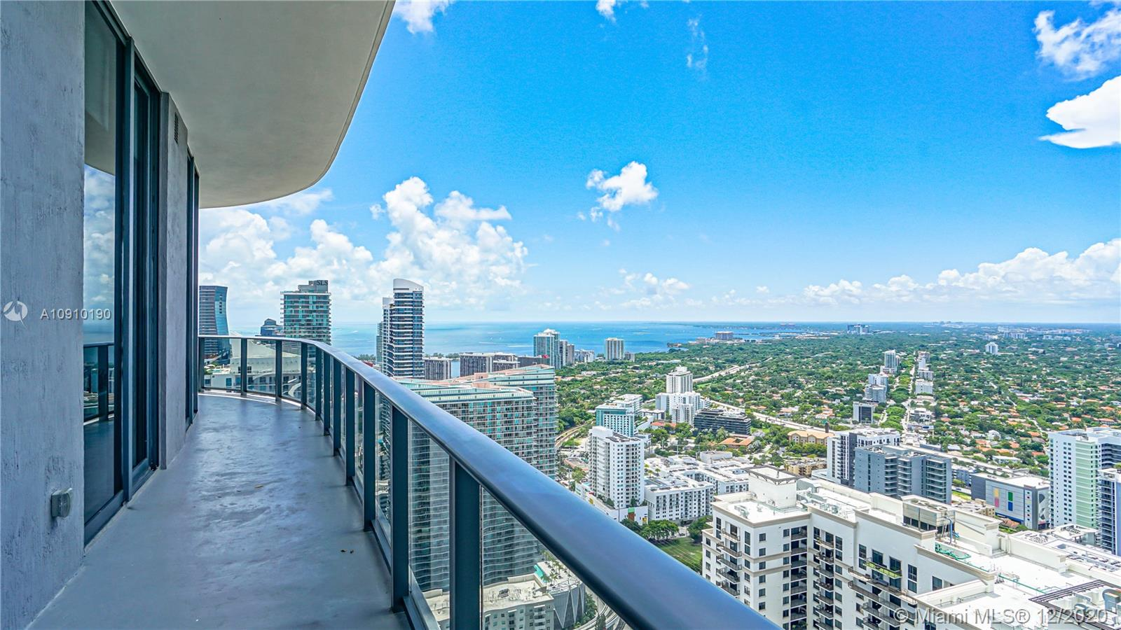 Stunning Penthouse located in the heart of Brickell! This magnificent unit has 4 bedrooms, 4.5 bathrooms & 2 parking spaces assigned. Unit has a guest powder room, porcelain floors throughout, each room has it's private bathroom, gourmet kitchen facing the Miami Skyline. High Ceilings with remote shades in the living room & 180-degree view with wrap around balcony, dramatic floor-to-ceiling high impact glass windows. Magnificent East, South & West exposure with open kitchen with top of the line appliances. Best amenities featuring sauna, rooftop pool, clubhouse, billiard room, outdoor fitness area, steam room, child's play area, business center & the world-famous Equinox Fitness Center. Walking distance to the best restaurants in the area & Brickell City Center mall. CLICK ON VIRTUAL TOUR!