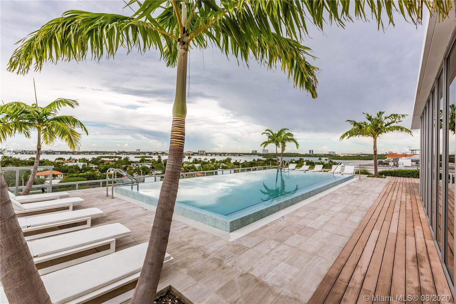 Great 2 bedrooms + Den (is enclosed by sliding doors and can be used as the third bedroom) / 3 full baths unit at Kai! The unit has a very functional floor plan! Custom closets have been put in the bedrooms along with blinds throughout the unit. Kai is a boutique building in Bay Harbor Islands with great amenities including a rooftop pool, gym, and party room. Come live at this unit and enjoy everything that Bay Harbor Islands has to offer!