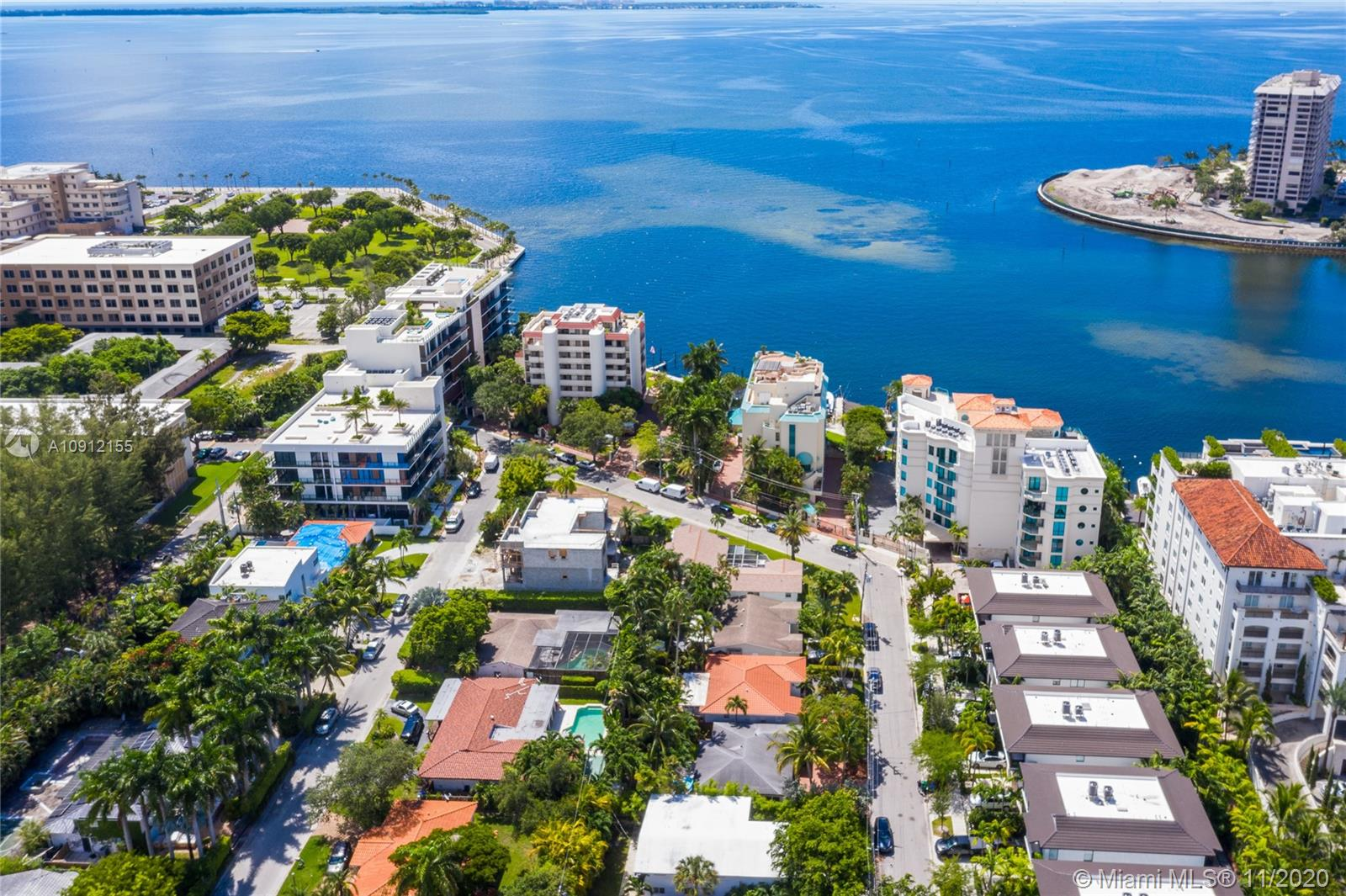 Price to Sell!!! Don't miss this charming single family home located in the prime area of North Coconut Grove, with a fully fenced in private back yard. Enjoy a short walk to your very own riparian to drop in your paddle board or canoe from your private Ocean access for the Glencoe neighborhood owners only to the bay. This home has been recently update to a beautiful contemporary style and lovely terrazzo floors. You can take a short walk to Kennedy park, minutes from Cocowalk and downtown. The plenty of space here so that the den can easily be converted to a 3rd bedroom and bath. This is a great opportunity to buy a great home surrounded by multi million dollar homes or tear this one down build your own if you like. Contact us today for a private showing.