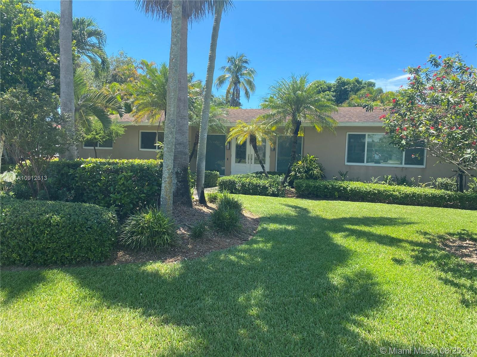Fantastic Palmetto Bay pool home.  Recently, completely renovated with high end finishes through out. Top of the line kitchen appliances with wood cabinets including all the extras.  Master bedroom with large sitting room overlooks the pool.  Both bathrooms with access to the pool/patio area.  Large living room with custom rock wall. Impact doors and windows. No expense spared.  Quiet no traffic location.