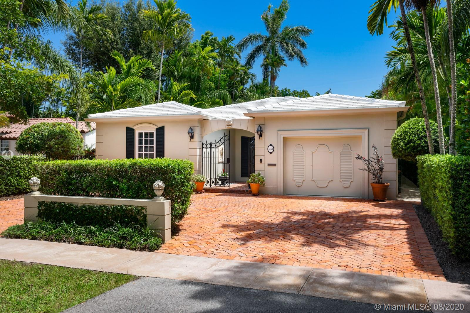 920  Andalusia Ave  For Sale A10911396, FL