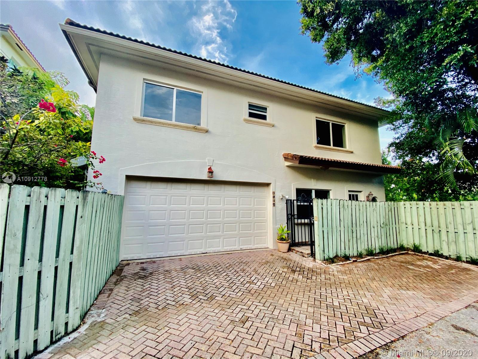 Spacious attached single family home in the highly sought after Victoria Park neighborhood. Featuring an open kitchen with Island and brand new stainless steel appliances, freshly painted interior and exterior, hurricane impact windows and doors throughout. Large family room leads out to a fenced in backyard with pool great for entertaining. Upstairs Master bedroom features ensuite bathroom with dual sinks and private balcony with views of downtown Fort lauderdale.  Live just minutes from Downtown Las Olas, ten minutes from the beach, and approximately 20 minutes from the Fort Lauderdale International Airport. No HOA!