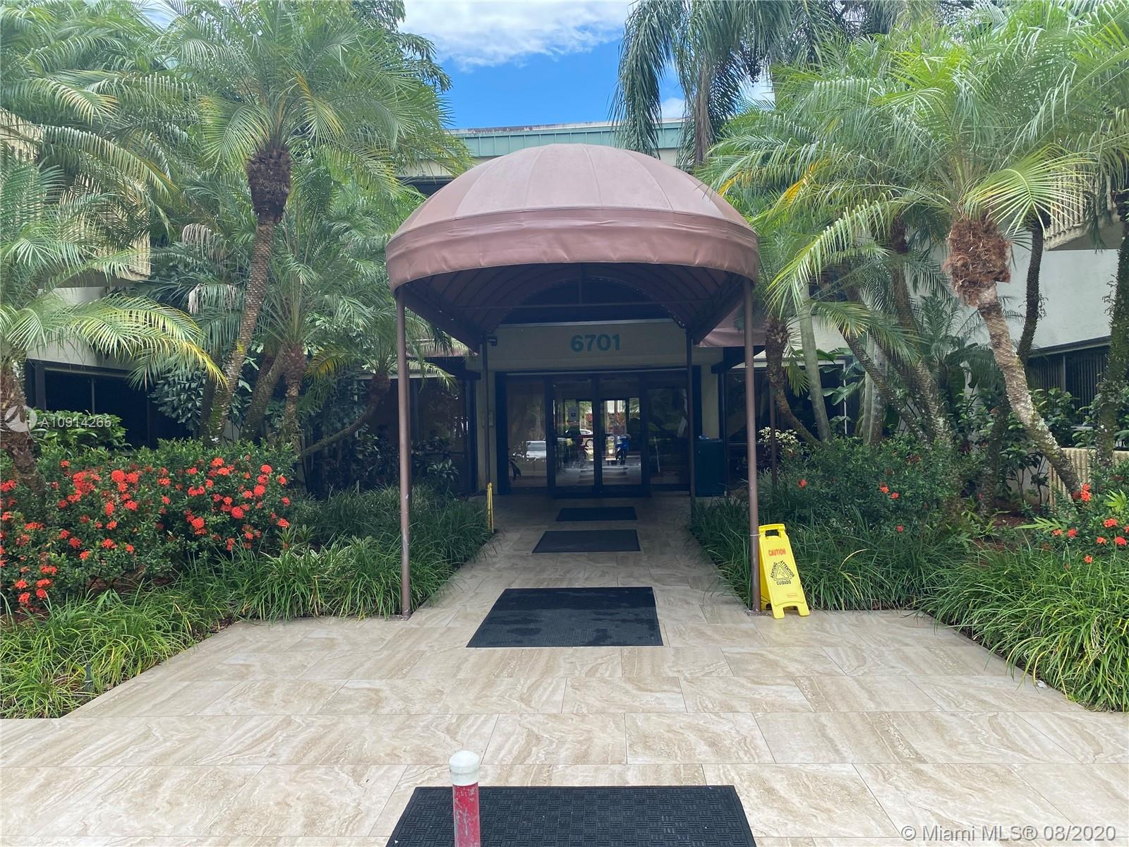 6701  Sunset Dr #105 For Sale A10914265, FL