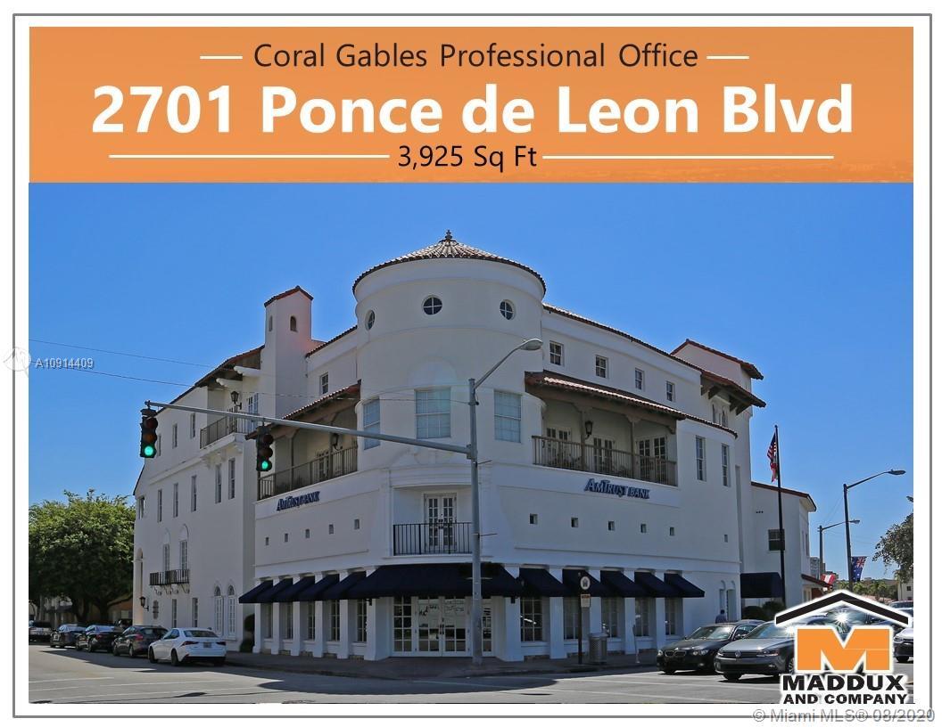 2701  Ponce De Leon Blvd  For Sale A10914409, FL