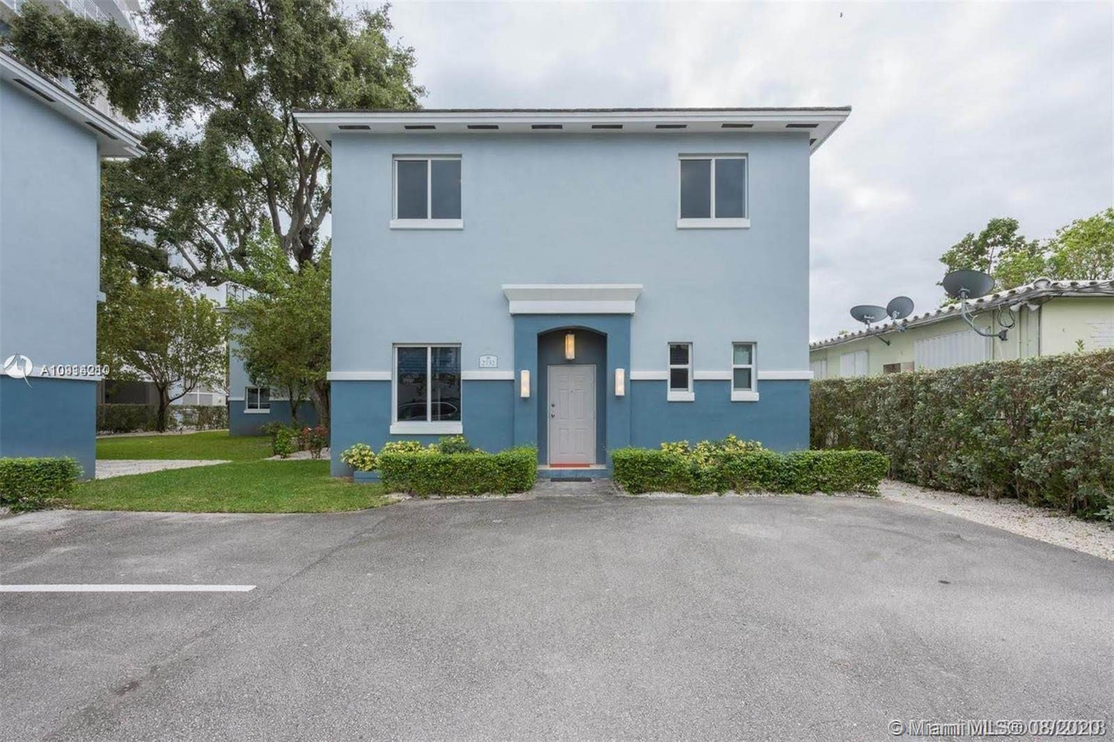 Style and elegance meet in this spacious Coconut Grove impeccable townhouse. This 3/2 home has been completely remodeled and flooded with natural light. Amazing location! Steps from the Metrorail, restaurants, Publix, Starbucks, excellent schools & shopping. Close to Downtown, Miami Beach, airport, US1, I-95 & 836. This home offers an open concept contemporary kitchen, rich dark wood floors, steel framed staircase, impact windows, updated bathrooms, enormous storage space, washer and dryer and much much more. Association offers an indoor heated pool, gym, guest parking and lawn maintenance.
