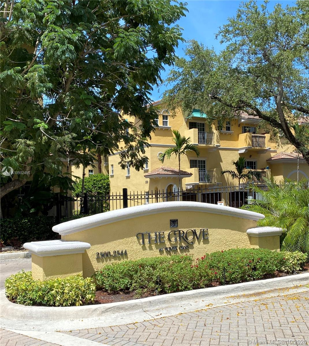This charming 2Bed/2.5bath multi level town home with a two car garage is located in sought out community The Grove at River oaks. This town home is all about location location location, which is minutes from Downton, Las Olas, Ft. Lauderdale Beach, airport, port everglades, and Hard Rock Hotel and Casino. With fast access to multiple highways makes it easy to commute any where you would like to go. This town home is a perfect starter home or rental investment.