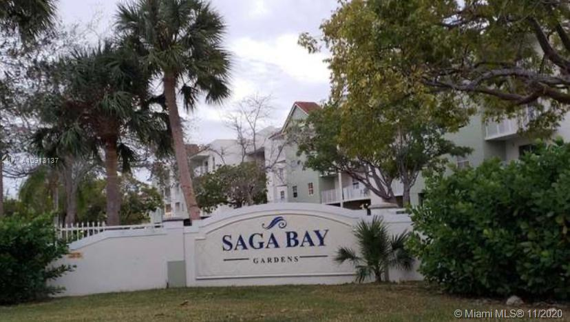 Great remodeled 2 bedrooms / 2 bathrooms apartment, new kitchen white cabinets, SS appliances, granite countertop, split  bedroom layout, tile floors, accordion shutters, great building, amenities included, gym, pool, tennis, and much more. Elevator, apartment is located in first floor. 1 parking space assigned, and visitors parking available. Great family oriented area, close to turnpike, US 1 and great schools around the neighborhood. Brand new elevators, building has been renovated recently. Laundry facilities are outside the apartment, in the building. Trained dogs under 20 pound are allowed.