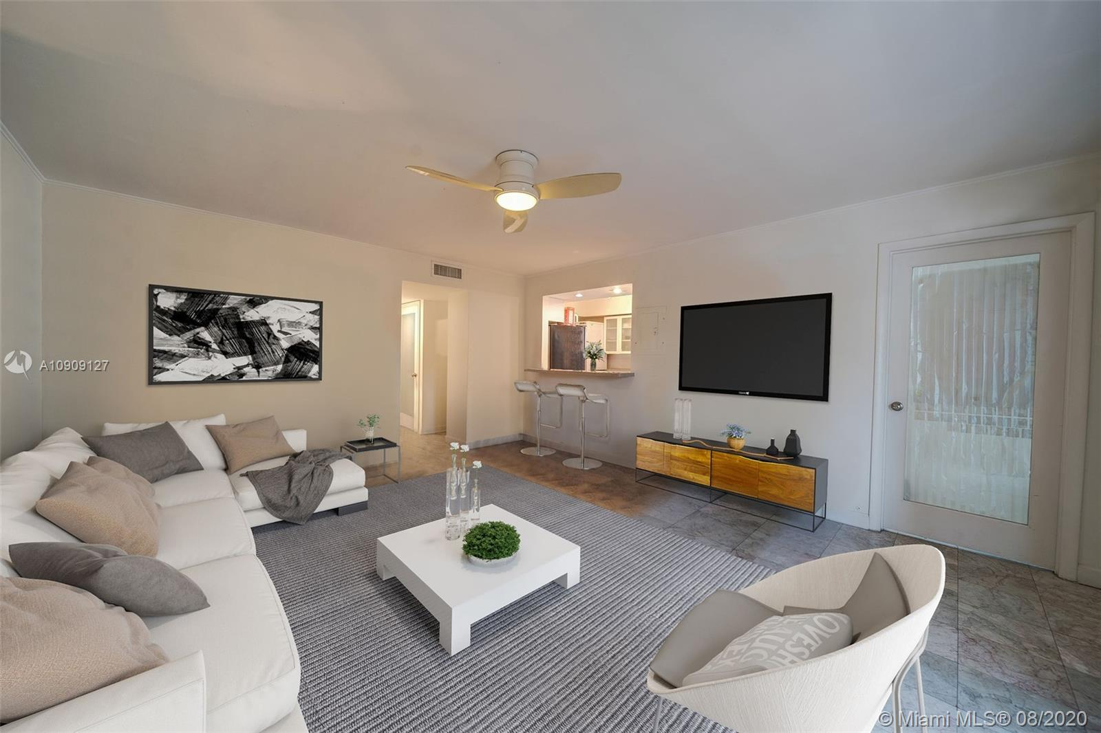 1601  Bay Rd #8 For Sale A10909127, FL
