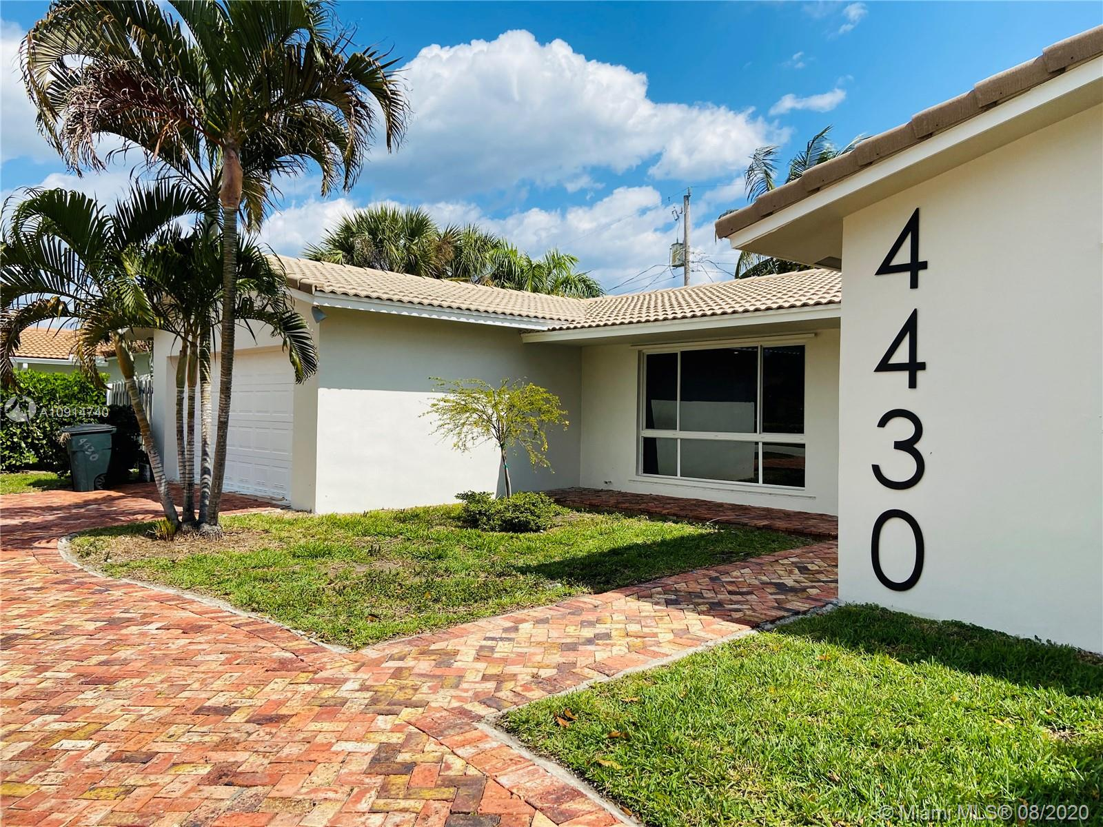 This recently renovated, spacious family home is the exclusive community of Venetian Isles in Lighthouse Point features both modern amenities and character in a fantastic location. No stone was left unturned during the recent remodel, which includes updated porcelain flooring throughout and a brand-new subway tile backsplash, stainless steel appliances , quarts countertop. Enjoy the proximity to the beach, fine dining, A+ schools , the marina and shopping. Don't miss out on this captivating home.Home is tenant occupied at $3250