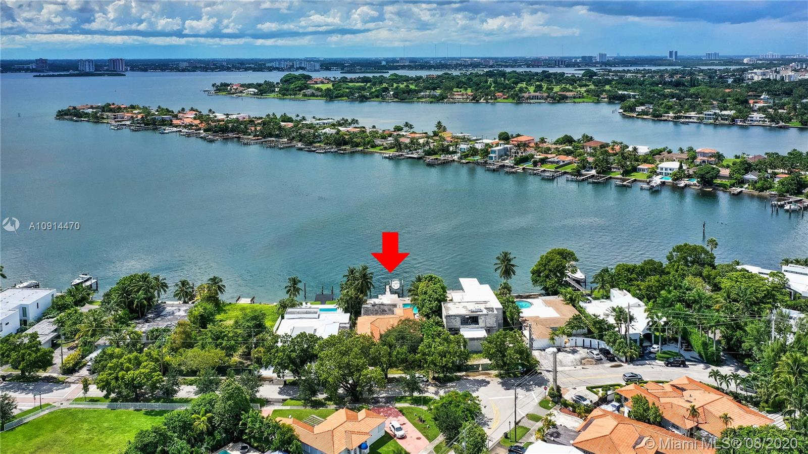 1205 N Biscayne Point Rd  For Sale A10914470, FL